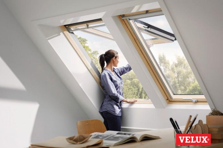 VELUX jaunās paaudzes jumta logu īpašības.