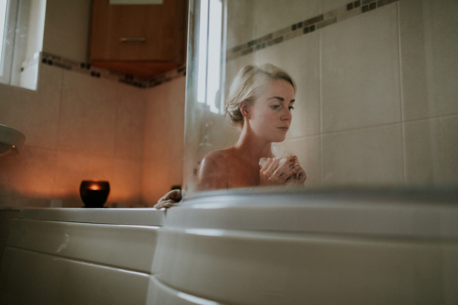 dušas kabīnes vai vannas